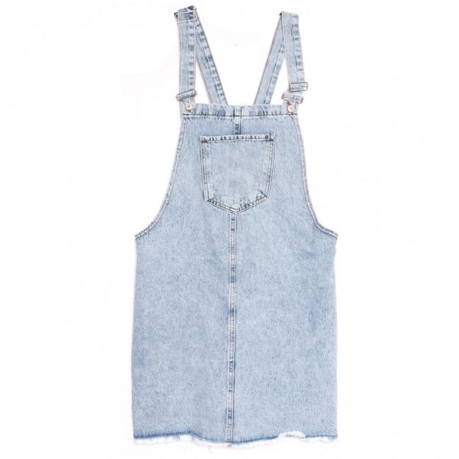 3521 Xray сарафан джинсовый батальный синий осенний коттоновый (42-48, 4 ед.) XRAY: артикул 1111053