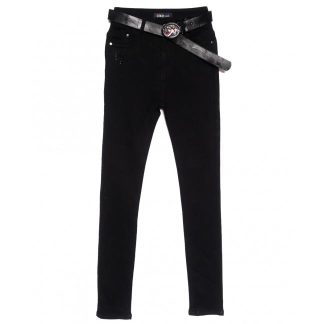 6238 Like джинсы женские черные осенние стрейчевые (25-30, 6 ед.) Like: артикул 1111134