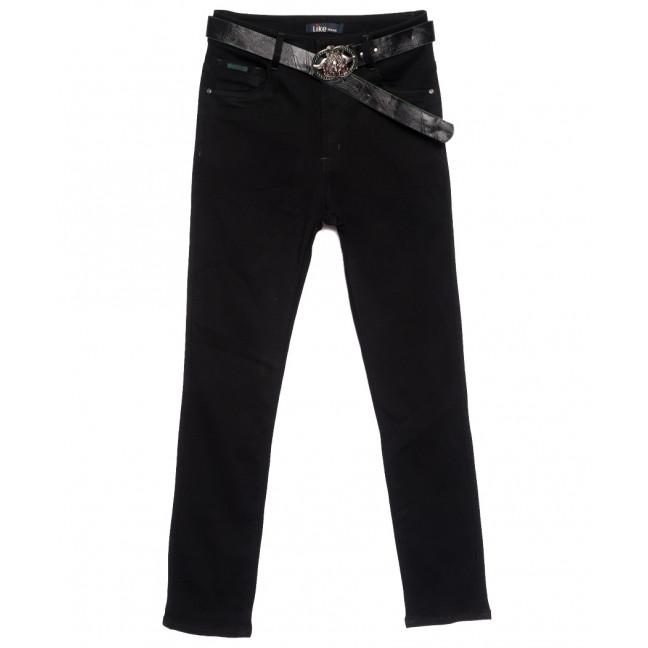 6242 Like джинсы женские батальные черные осенние стрейчевые (31-38, 6 ед.) Like: артикул 1111133
