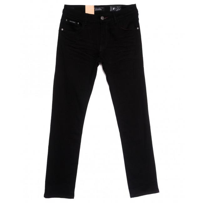 2285 Fang джинсы мужские полубатальные черные осенние стрейчевые (32-42, 8 ед.) Fang: артикул 1111131