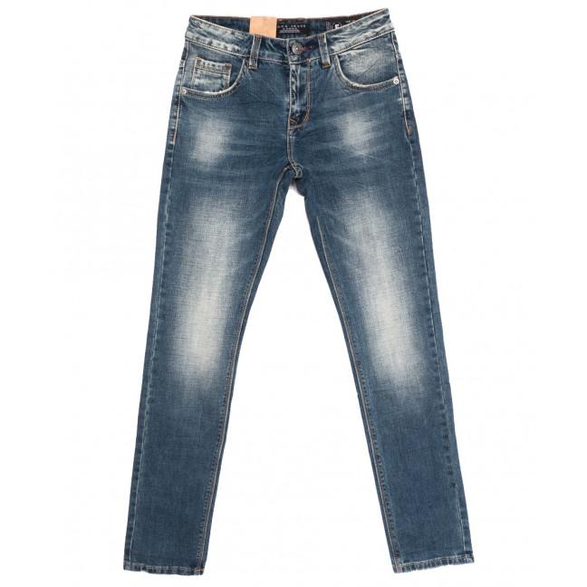 2276 Fang джинсы мужские молодежные синие осенние стрейчевые (28-34, 8 ед.) Fang: артикул 1111128