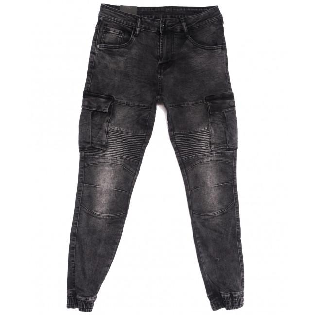 20032-50 Viman джинсы мужские на резинке серые осенние стрейчевые (31-42, 5 ед.) Viman: артикул 1111142