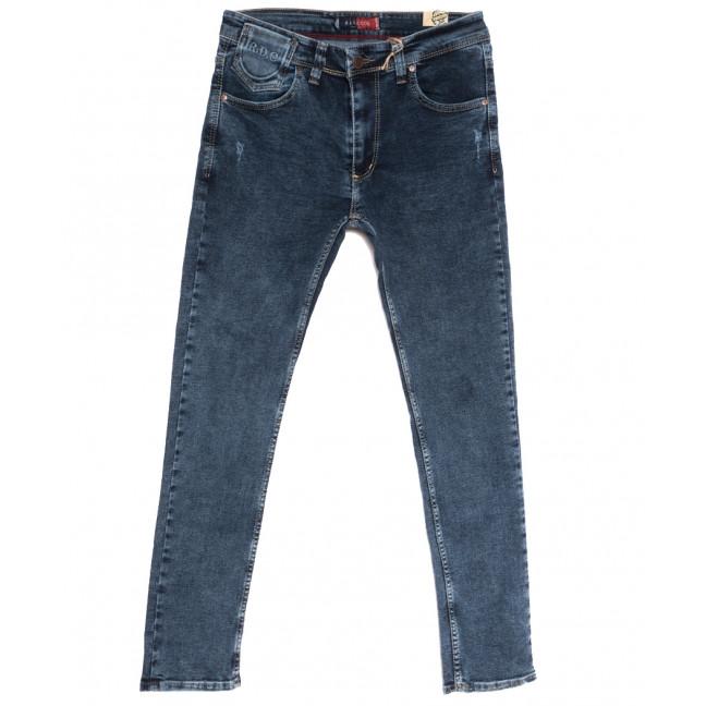 6939 Redcode джинсы мужские с царапками синие осенние стрейчевые (29-36, 8 ед.) Red Volis: артикул 1111250