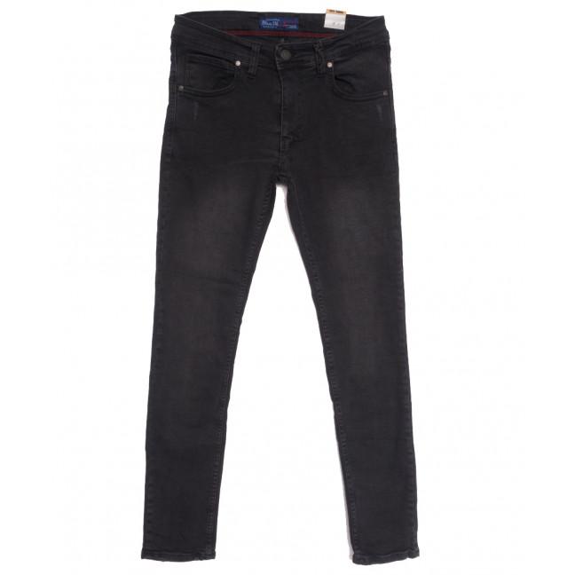 6882 Blue Nil джинсы мужские с царапками серые осенние стрейчевые (29-36, 8 ед.) Blue Nil: артикул 1111254