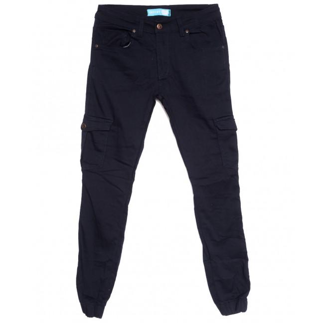 5946 Destry джинсы мужские на резинке с карманами темно-синие осенние стрейчевые (29-36, 8 ед.) Destry: артикул 1111256
