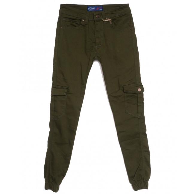 6992 Blue Nil джинсы мужские на резинке с карманами хаки осенние стрейчевые (29-36, 8 ед.) Blue Nil: артикул 1111255