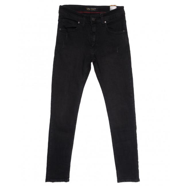 6880 Redcode джинсы мужские с царапками черные осенние стрейчевые (29-36, 8 ед.) Red Volis: артикул 1111253
