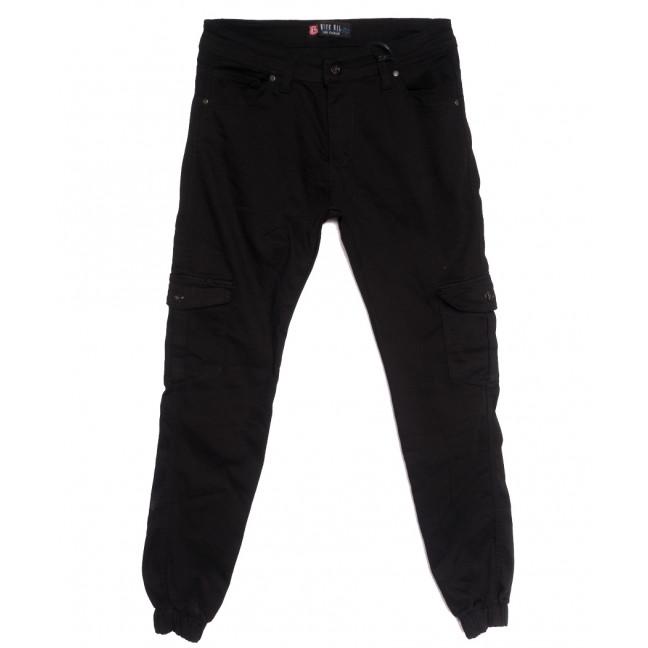 6992 Blue Nil джинсы мужские на резинке с карманами черные осенние стрейчевые (29-36, 8 ед.) Blue Nil: артикул 1111257