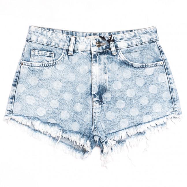 4034 Real Focus шорты джинсовые женские синие коттоновые (26-30, 5 ед.) Real Focus: артикул 1111296
