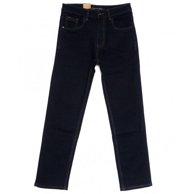 1042 LS джинсы мужские полубатальные темно-синие осенние стрейчевые (32-38, 8 ед.) LS: артикул 1111359