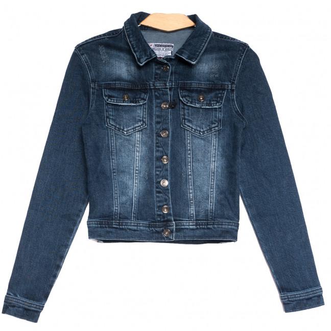 0643 синяя Redmoon куртка джинсовая женская c царапками стрейчевая (S-XL, 4 ед.) REDMOON: артикул 1111389