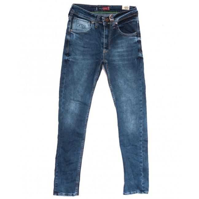 6983 Redcode джинсы мужские молодежные с царапками синие осенние стрейчевые (27-32, 8 ед.) Redcode: артикул 1111714