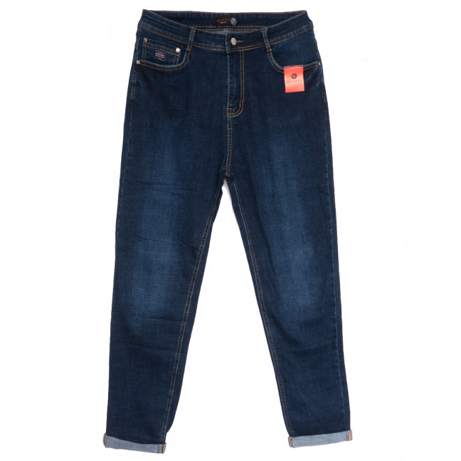 0522-3 А Relucky джинсы женские батальные синие осенние стрейчевые (32-42, 6 ед.) Relucky: артикул 1111594