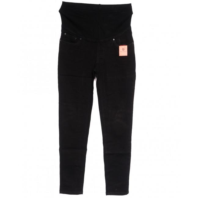 0903-2 В Relucky джинсы полубатальные для беременных черные осенние стрейчевые (28-33, 6 ед.) Relucky: артикул 1111624