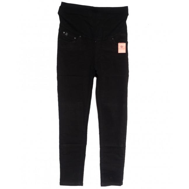 0901-2 В Relucky джинсы полубатальные для беременных черные осенние стрейчевые (28-33, 6 ед.) Relucky: артикул 1111625