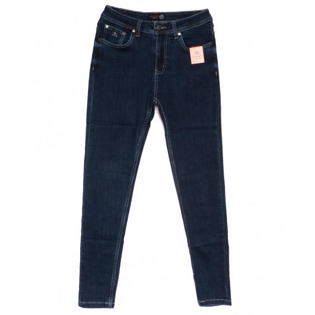 0505-2 А Relucky джинсы женские полубатальные синие осенние стрейчевые (31-38, 6 ед.) Relucky: артикул 1111617
