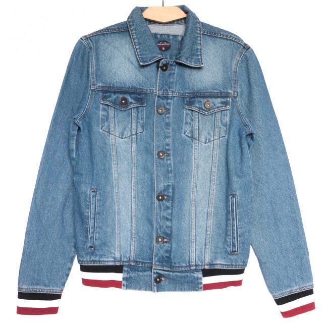 0378 Redmoon куртка джинсовая мужская синяя осенняя коттоновая (S-XL, 4 ед.) REDMOON: артикул 1111725