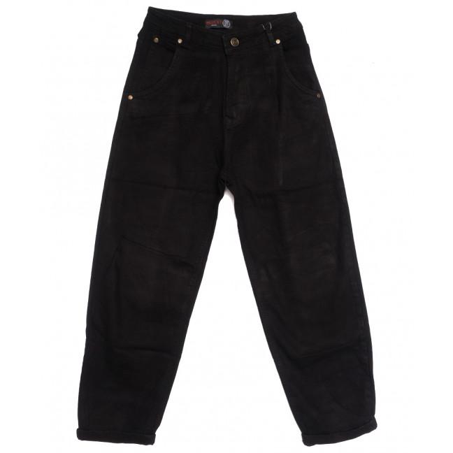 0089-3 М Relucky джинсы-баллон черные осенние стрейчевые (25-30, 6 ед.) Relucky: артикул 1111627