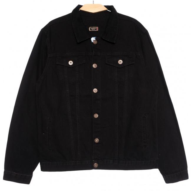 0265 Redmoon куртка джинсовая мужская черная осенняя коттоновая (XL-4XL, 4 ед.) REDMOON: артикул 1111735