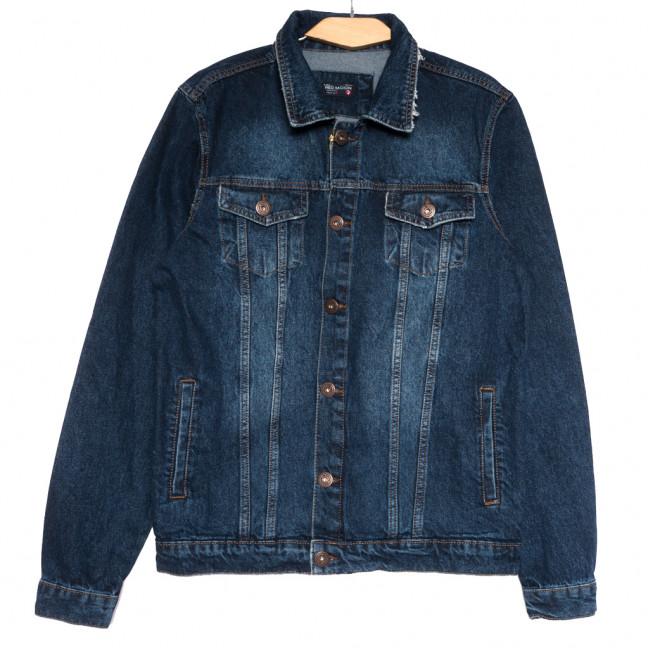 0479 темно-синяя Redmoon куртка джинсовая мужская осенняя коттоновая (S-XL, 4 ед.) REDMOON: артикул 1111728