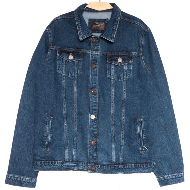 0510 синяя Redmoon куртка джинсовая мужская осенняя коттоновая (XL-4XL, 4 ед.) REDMOON: артикул 1111733