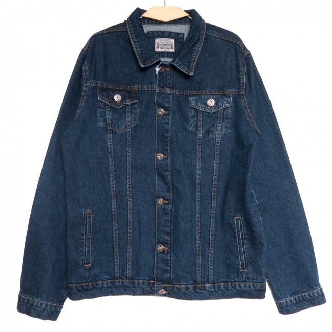 0548 Redmoon куртка джинсовая мужская синяя осенняя коттоновая (3XL-6XL, 4 ед.) REDMOON: артикул 1111734