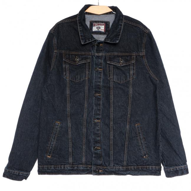 0641 Redmoon куртка джинсовая мужская темно-синяя осенняя коттоновая (3XL-6XL, 4 ед.) REDMOON: артикул 1111737