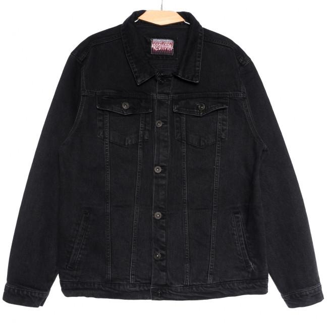 0670 Redmoon куртка джинсовая мужская темно-серая осенняя коттоновая (3XL-6XL, 4 ед.) REDMOON: артикул 1111736