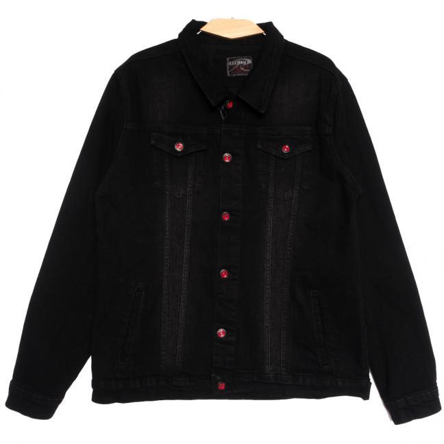 0545 Redmoon куртка джинсовая мужская черная осенняя стрейчевая (XL-4XL, 4 ед.) REDMOON: артикул 1111742