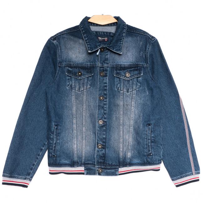 0320 Redmoon куртка джинсовая мужская синяя осенняя коттоновая (S-XL, 4 ед.) REDMOON: артикул 1111729
