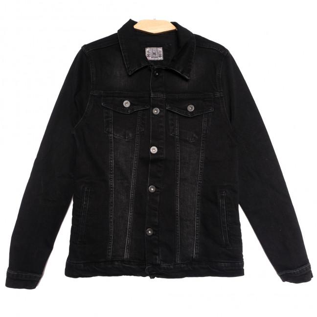 0621 Redmoon куртка джинсовая мужская черная осенняя стрейчевая (S-XL, 4 ед.) REDMOON: артикул 1111743