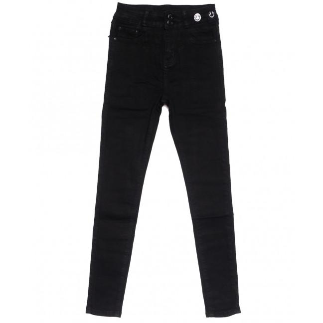 0510 New jeans американка черная осенняя стрейчевая (25-30, 6 ед.) New Jeans: артикул 1111680