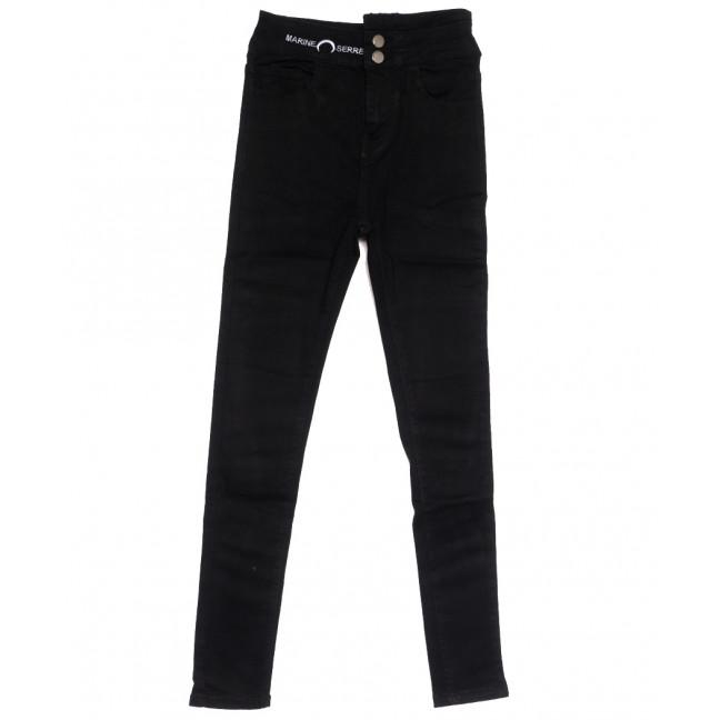 0503 New jeans американка черная осенняя стрейчевая (25-30, 6 ед.) New Jeans: артикул 1111678