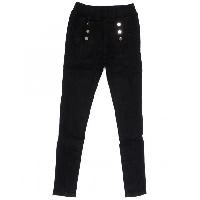 0502 New jeans джинсы женские на резинке черные осенние стрейчевые (25-30, 6 ед.) New Jeans: артикул 1111683