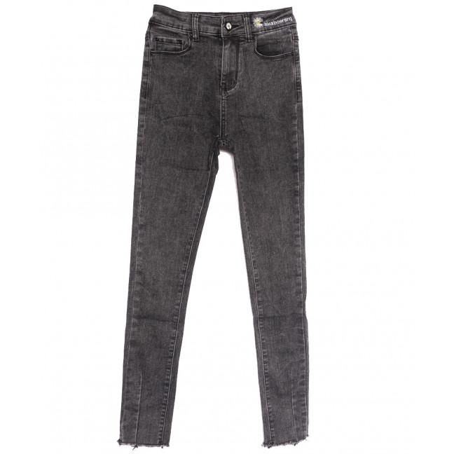0538 New jeans джинсы женские серые осенние стрейчевые (25-30, 6 ед.) New Jeans: артикул 1111697