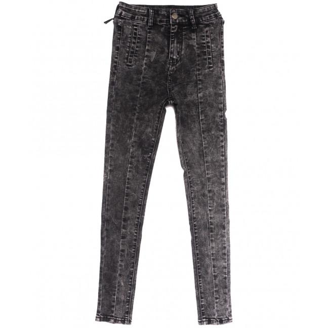0501 New jeans джинсы женские серые осенние стрейчевые (25-30, 6 ед.) New Jeans: артикул 1111698