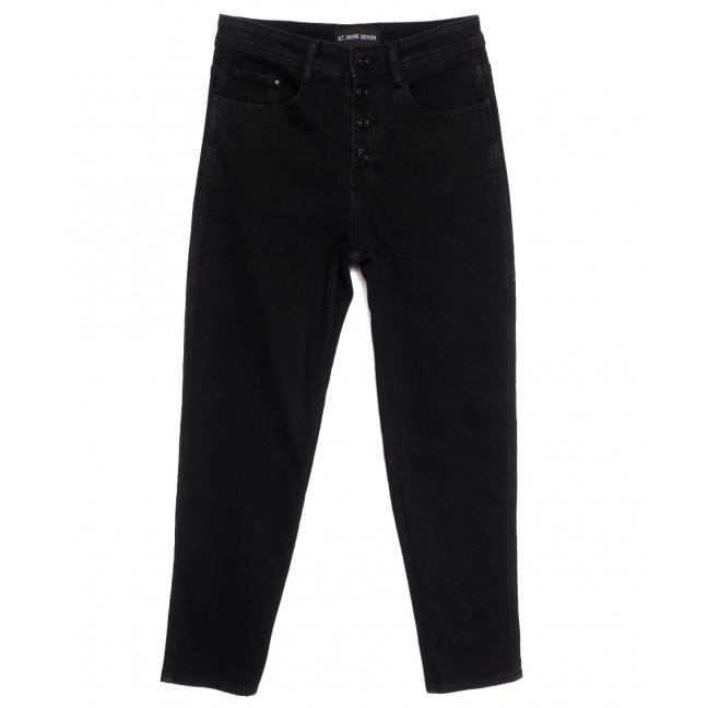 3040 KT.Moss джинсы женские полубатальные черные осенние стрейчевые (28-33, 6 ед.) KT.Moss: артикул 1111791