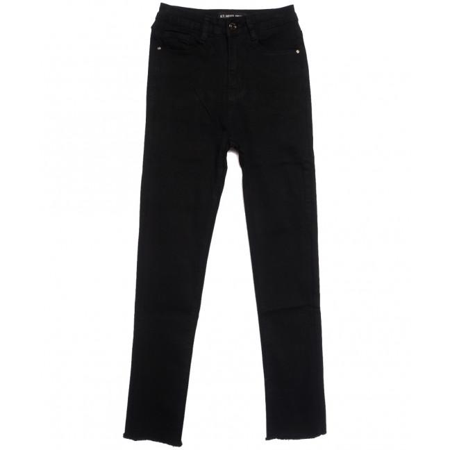 0966 KT.Moss джинсы женские черные осенние стрейчевые (25-30, 6 ед.) KT.Moss: артикул 1111799