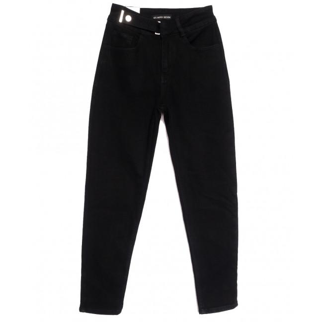 3039 KT.Moss джинсы женские черные осенние стрейчевые (25-30, 6 ед.) KT.Moss: артикул 1111794