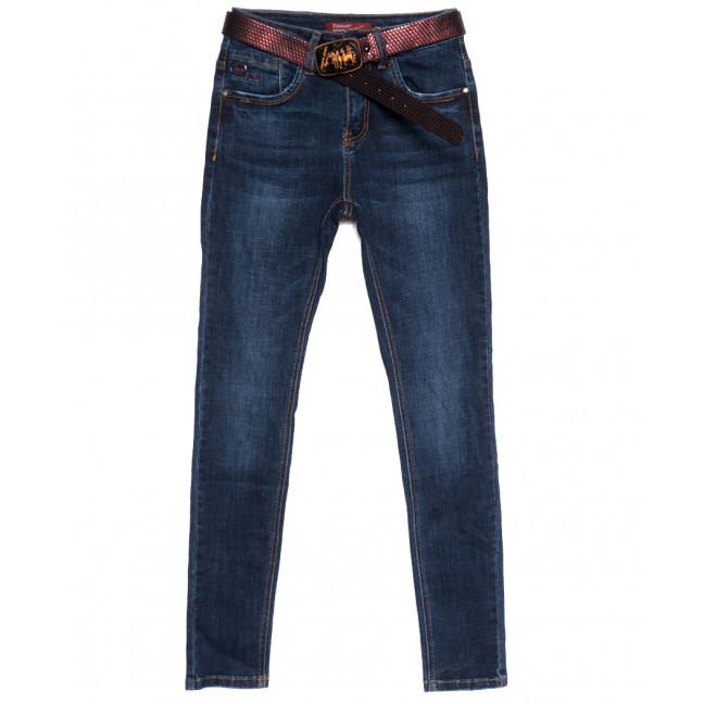 8512 Vanver джинсы женские полубатальные синие осенние стрейчевые (28-33, 6 ед.) Vanver: артикул 1111818