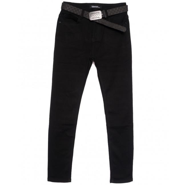 81392 Vanver джинсы женские полубатальные черные осенние стрейчевые (28-33, 6 ед.) Vanver: артикул 1111817