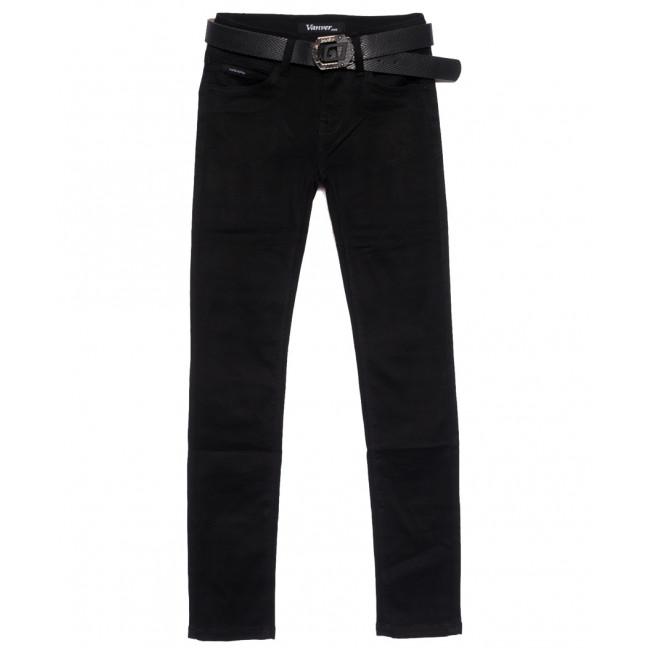 81285 Vanver джинсы женские черные осенние стрейчевые (25-30, 6 ед.) Vanver: артикул 1111819