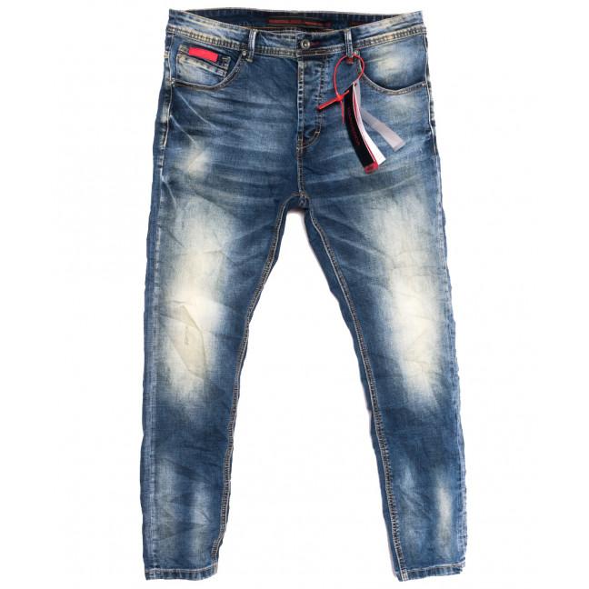 2166 Hardsoda Jeans джинсы мужские синие осенние стрейчевые (29-36, 5 ед.) Hardsoda Jeans: артикул 1111951