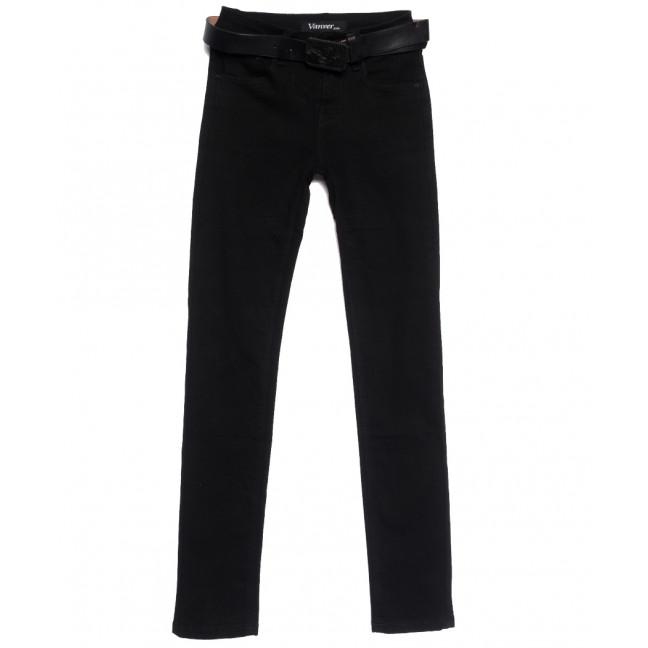 81235 Vanver джинсы женские черные осенние стрейчевые (25-30, 6 ед.) Vanver: артикул 1111992