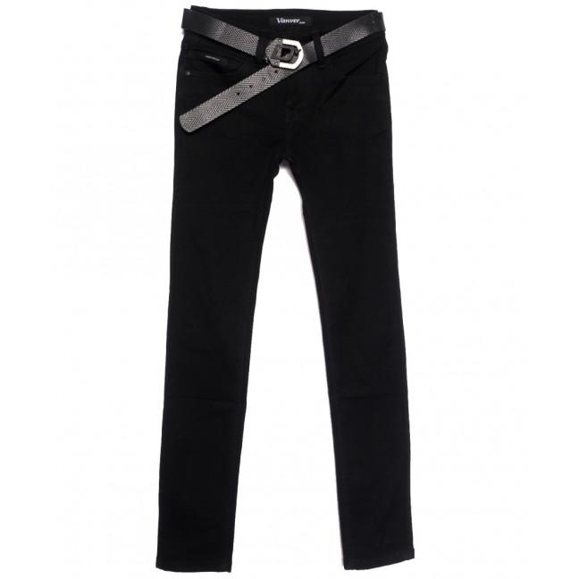 81285 Vanver джинсы женские черные осенние стрейчевые (25-30, 6 ед.) Vanver: артикул 1111993