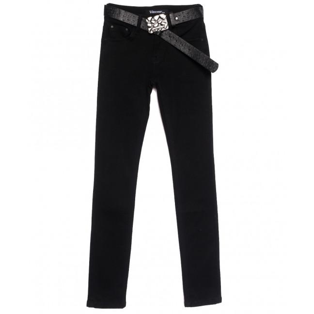 81251 Vanver джинсы женские черные осенние стрейчевые (25-30, 6 ед.) Vanver: артикул 1111998