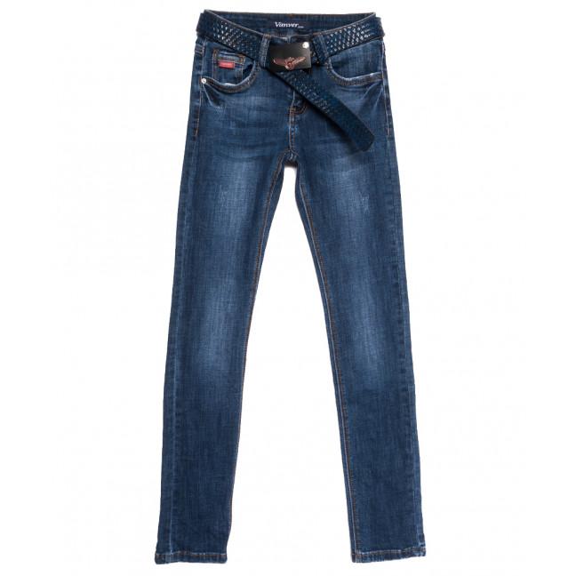 8179 Vanver джинсы женские с царапками синие осенние стрейчевые (25-30, 6 ед.) Vanver: артикул 1112002