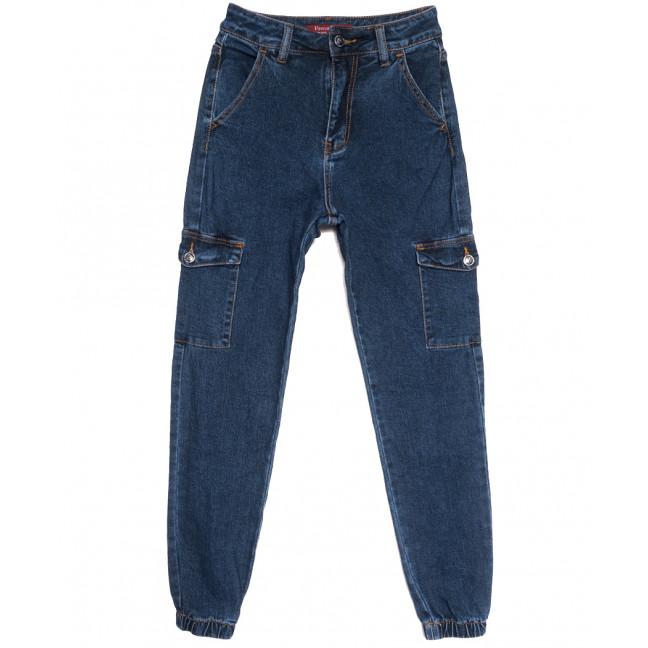 8276 Vanver джинсы женские на резинке синие осенние стрейчевые (25-30, 6 ед.) Vanver: артикул 1112000