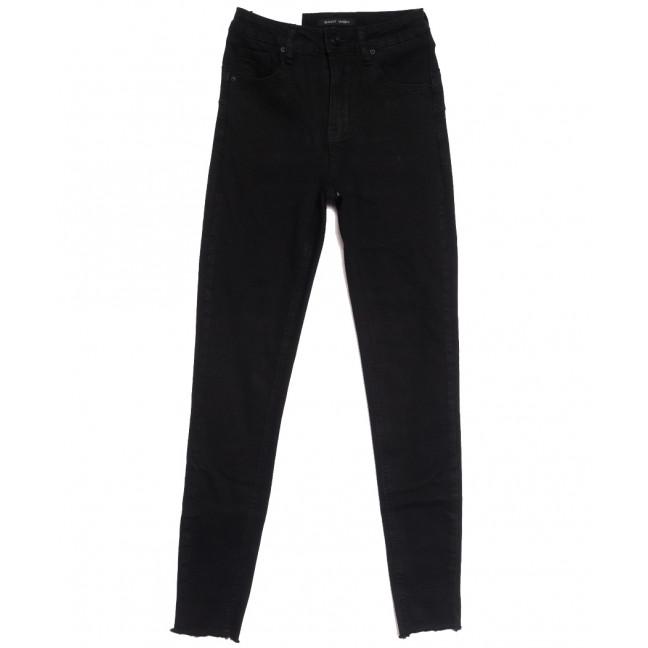 7785 Saint Wish джинсы женские черные осенние стрейчевые (25-30, 6 ед.) Saint Wish: артикул 1112033