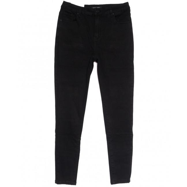 7787 Saint Wish джинсы женские батальные черные осенние стрейчевые (30-36, 6 ед.) Saint Wish: артикул 1112041
